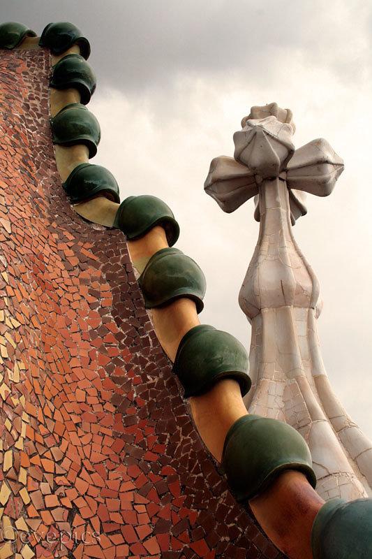 Casa Batlló Dach