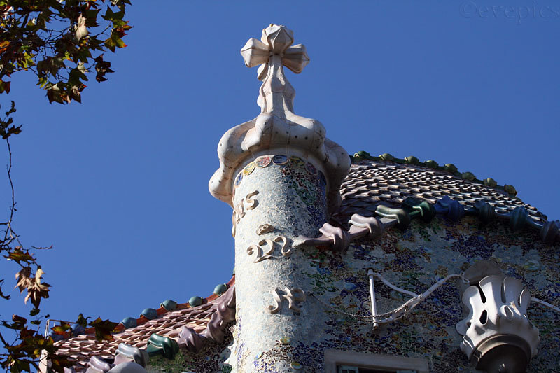 Casa Batlló Dachfassade