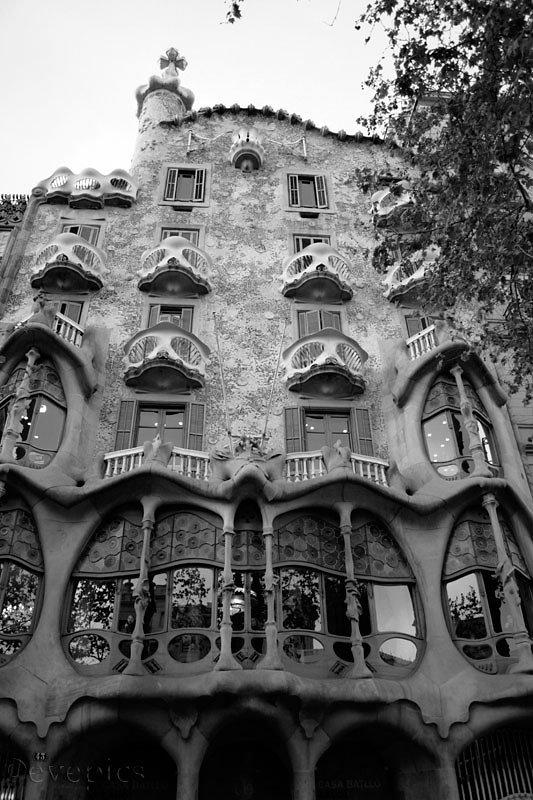 Casa Batlló (Knochen-)Fassade