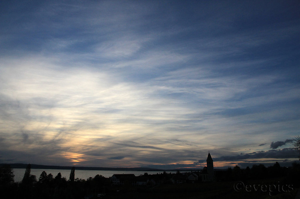 Lake Constance – painted sky