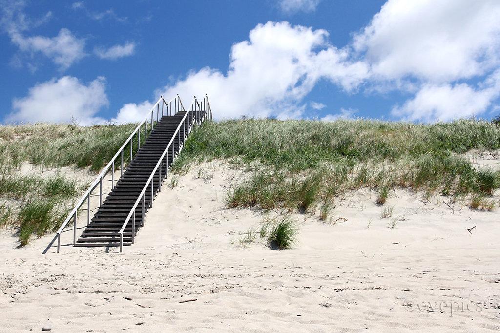 Strand an der Westseite der Kurischen Nehrung / Beach – Curonian Spit